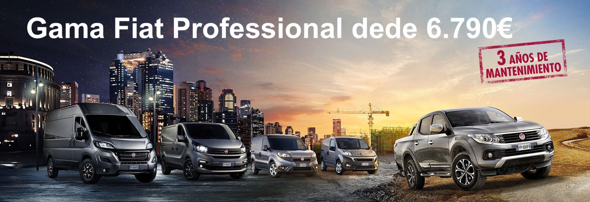 Gama Fiat Professional